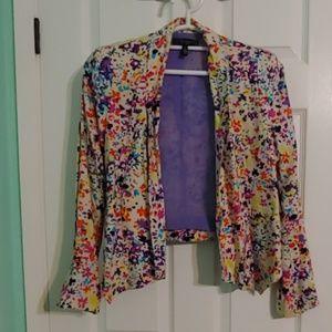 Jessica Simpson floral blazer - NWT